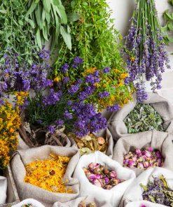 τσάγια και βότανα